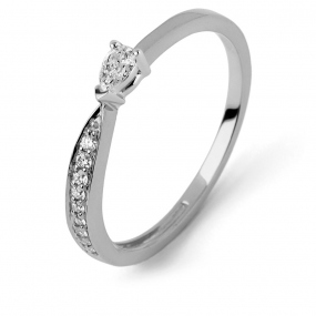 Bague diamant Sweet Paris 0.19 ct Alexia- R9013