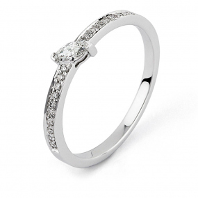 Bague diamant Sweet Paris 0.21 ct Élizabeth- R8664