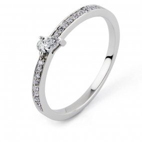Bague diamant Sweet Paris 0.21 ct Artémis- R8662