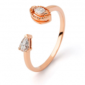 Bague diamant Sweet Paris 0.24 ct Marilyne- R8953