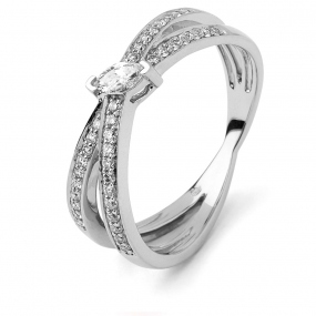 Bague diamant Sweet Paris 0.3 ct Estelle- R8667