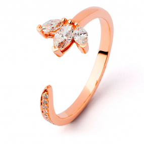 Bague diamant Sweet Paris 0.4 ct Sabrina-  R9935