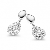 Boucles d'oreilles argent et oxydes Naiomy Silver - Femme - Félicia - N8B04