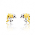 Boucles d'oreilles Dauphin 2 Ors Aria