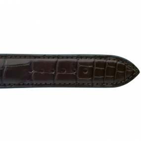 Bracelet Crocodile  de couleur Marron -Tahiata - 18614-03