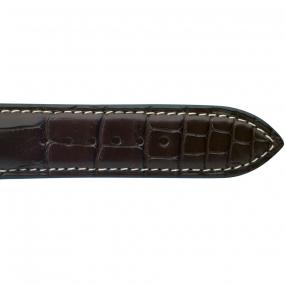 Bracelet Crocodile Homme de couleur Gold -Yuang - 18614E-03