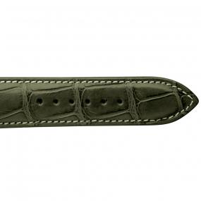 Bracelet Crocodile Homme de couleur Kaki -Clémentine - 18614E-20