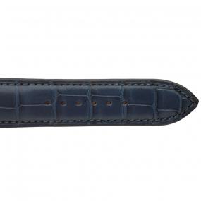 Bracelet Crocodile Homme de couleur Marine -Alice - 18614-04