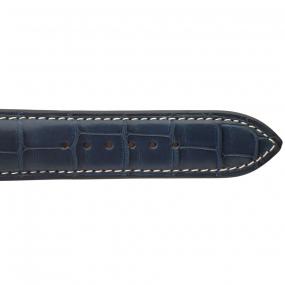 Bracelet Crocodile Homme de couleur Marine -Vahiti - 18614E-04
