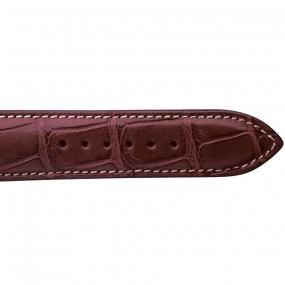 Bracelet Crocodile Homme de couleur Miel -Alessandra - 18614E-08