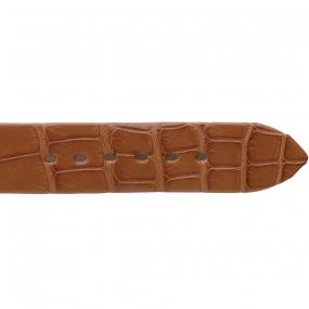 Bracelet Crocodile Homme de couleur Miel -Liana - 18004-06