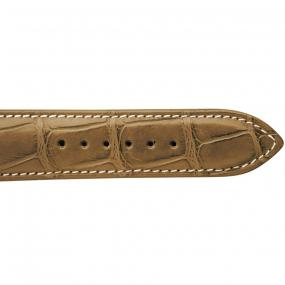 Bracelet Crocodile Homme de couleur Miel -Nami - 18614E-06