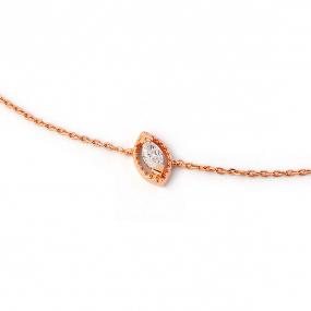 Bracelet diamant Sweet Paris 0.10 ct Violette- B2482