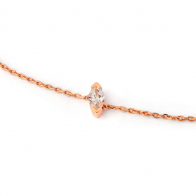 Bracelet diamant Sweet Paris 0.11 ct Floralie- B2487