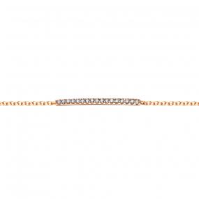 Bracelet diamants One More 0.075 ct - Ischia -052868A