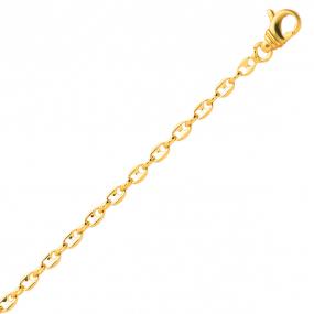 Bracelet en or Grain de Café 2.5 mm - 3.7g Margot