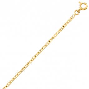 Bracelet en or maille marine 1.5mm - 1.25g Yustina