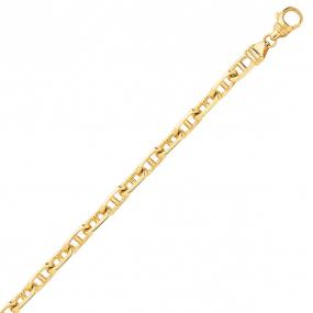 Bracelet en or maille marine 3mm - 4.25g Éliane