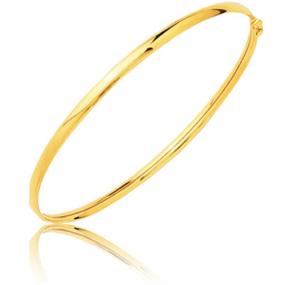 Bracelet jonc flexible or jaune  Or Jaune 5.45 g C�lia