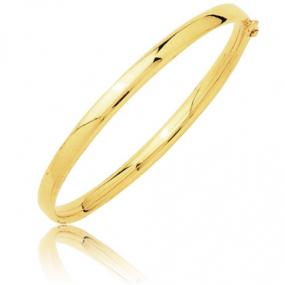 Bracelet jonc flexible or jaune  Or Jaune 9.35 g Aliya