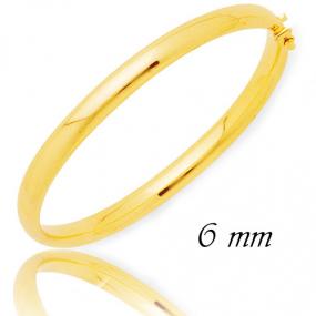 Bracelet Jonc or 6 mm Or Jaune 16.05 g D�lia