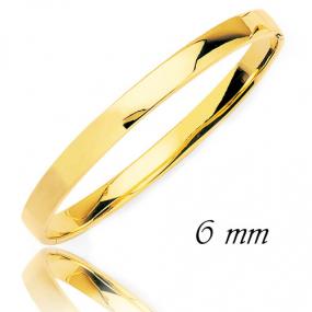Bracelet Jonc or Or Jaune 11.2 g Allissa