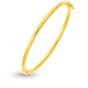 Bracelet jonc ouvrant 3mm Or Jaune 3.2 g Heidi