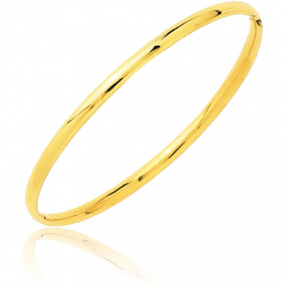 Bracelet jonc ouvrant or jaune Or Jaune 4.3 g Elena