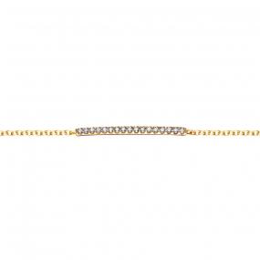 Bracelet Or Jaune  - One More  - 52867-A