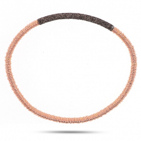 Bracelet pesavento Twirl Polvere Bronze  Maude WPLVB923