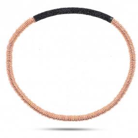 Bracelet pesavento Twirl Polvere Noir  Illona WPLVB924