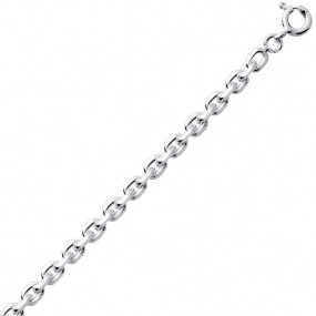 Chaine Argent Maille Forçat 4.62g Clarence