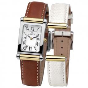 Coffret montre Michel Herbelin Antares bracelet Cuir - COF.17048/T01WG