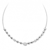 Collier argent et oxydes Naiomy Silver - Femme - Emilie - N8B06