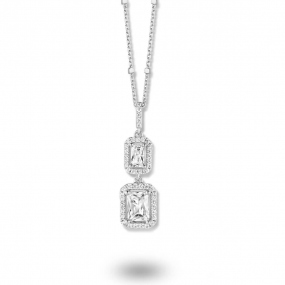 Collier argent et oxydes Naiomy Silver - Femme - Lorena - N8C02