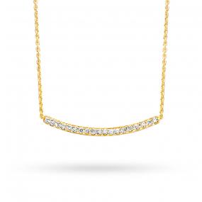 Collier  diamant 0.075 ct One More