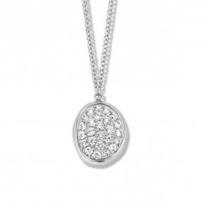 Collier  diamant 0.10 ct One More