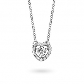 Collier  diamant 0.10 ct One More  48356-A