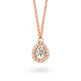 Collier  diamant 0.10 ct One More  50090-A