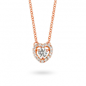 Collier  diamant 0.10 ct One More  51384-A