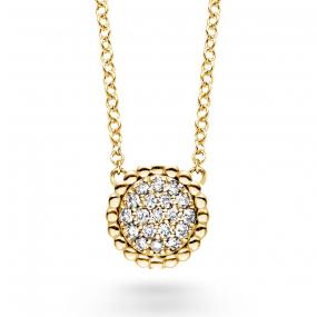 Collier  diamant 0.11 ct One More