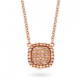 Collier  diamant 0.16 ct One More
