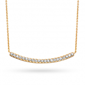 Collier  diamant 0.23 ct One More Clémence