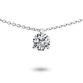 Collier diamant 0.33 ct Or Jaune 1.4g Hideki