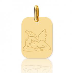 Médaille ange Or Jaune  Emmanuelle - XR1520