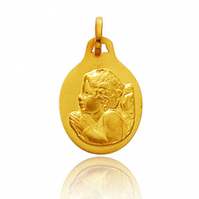 Médaille ange Or Jaune  Shelly