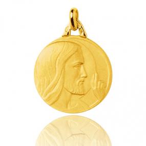Médaille Christ en Or Jaune 2.35 g - Alys
