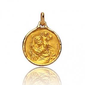 Médaille Saint Christophe Augis Or Jaune 1.51g Aurora - 3500027700