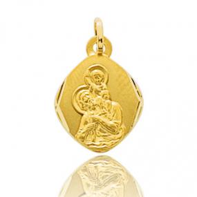 Médaille Saint Christophe Or Jaune 0.7g Élizane - 660114