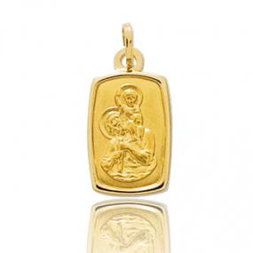 Médaille Saint Christophe Or Jaune 0.85g Shannon - 9K20712